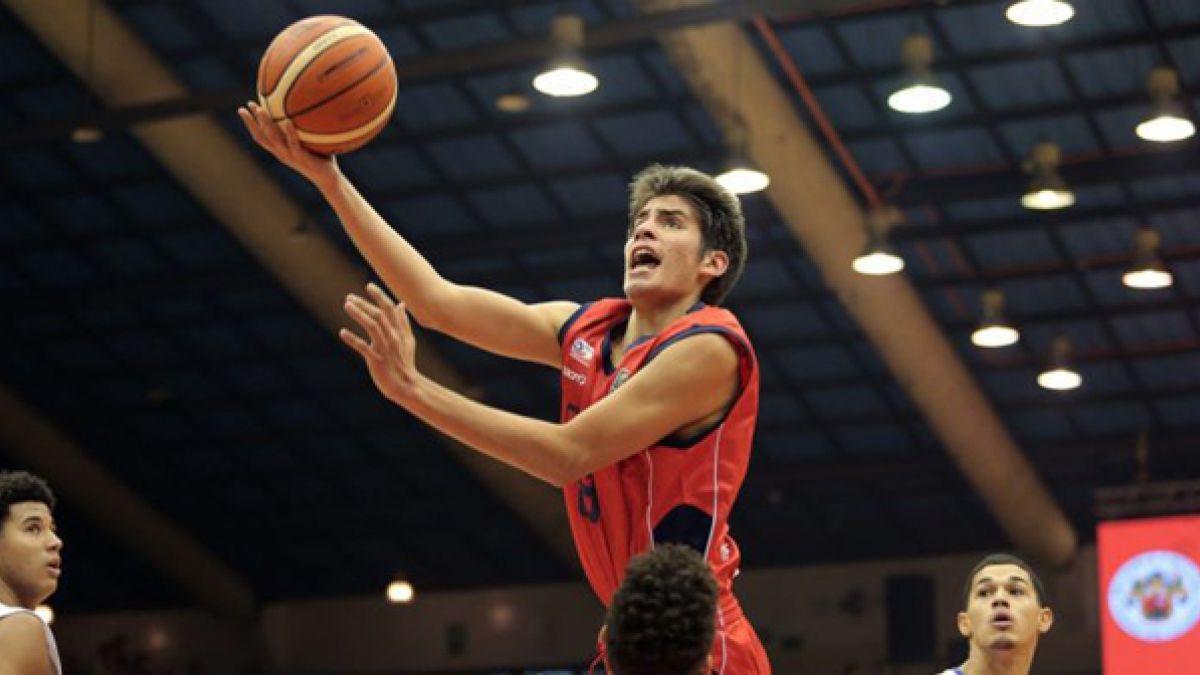Chile cae ante EE.UU. en Premundial Sub 18 de básquetbol y queda fuera del certamen de Egipto