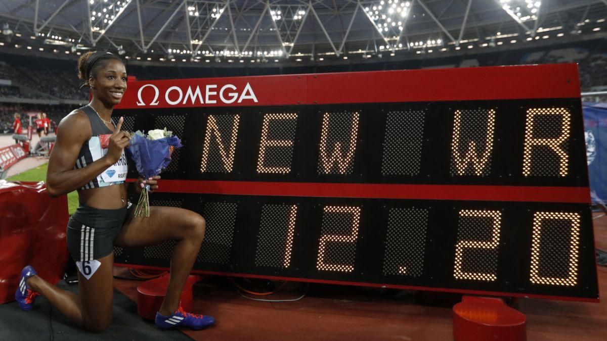 Atleta que no va a Río 2016 pulveriza récord de 100 metros vallas que databa de 1988