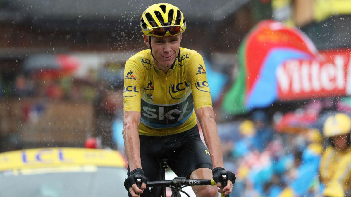 Chris Froome asegura virtualmente su tercer título del Tour de Francia