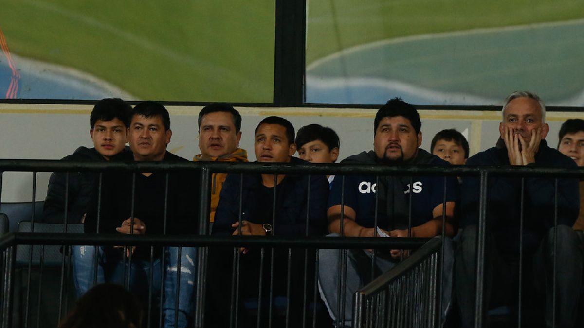 Alexis Sánchez dijo presente en el Nacional durante amistoso de la U