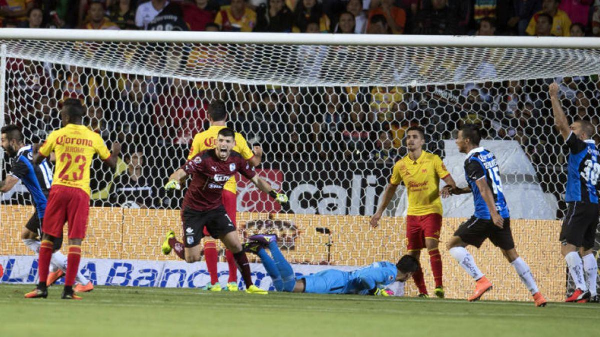 Diego Valdés anotó su primer gol en México en agónico empate de Morelia