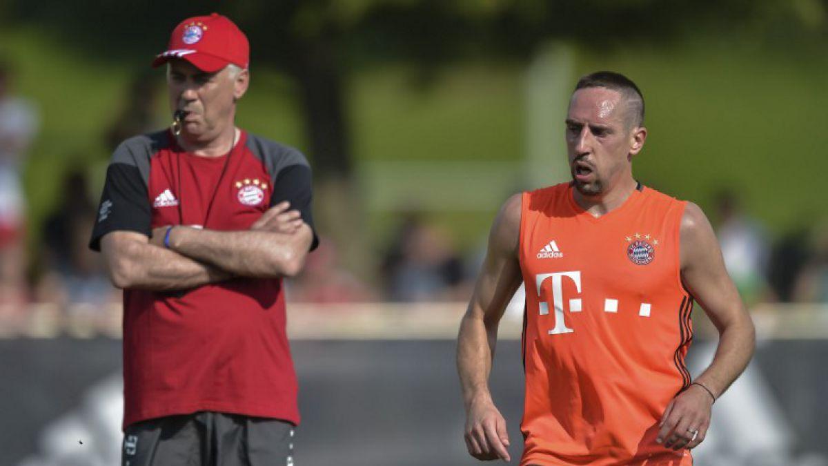 Ribery dispara contra Guardiola: Con Ancelotti vuelvo a sentir confianza