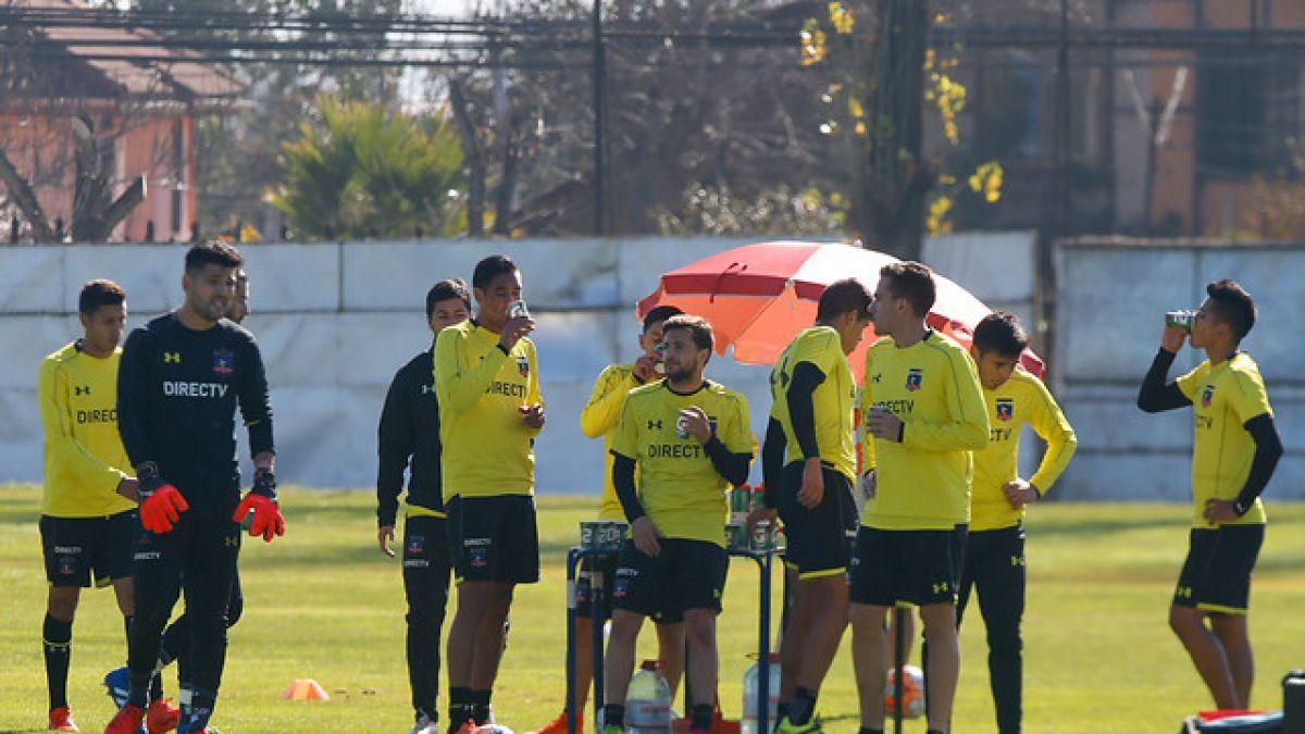 Colo Colo abrocha refuerzo y DT Guede ya prueba equipo para el debut