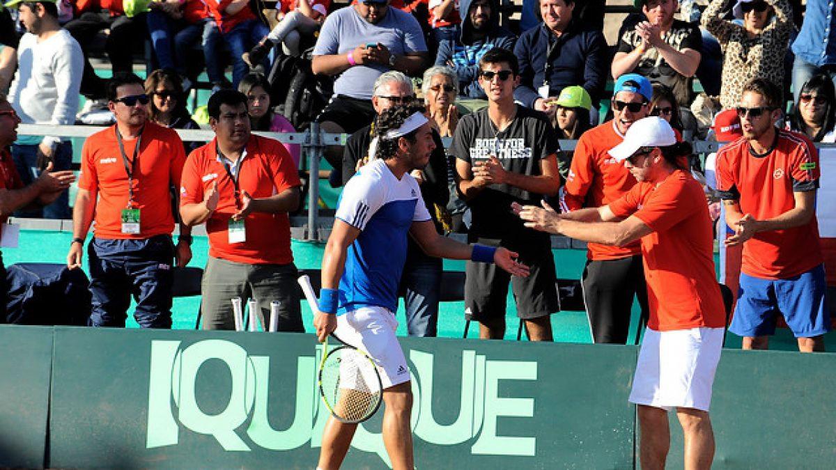 Chile enfrentará en Copa Davis al ganador entre República Dominicana y Barbados