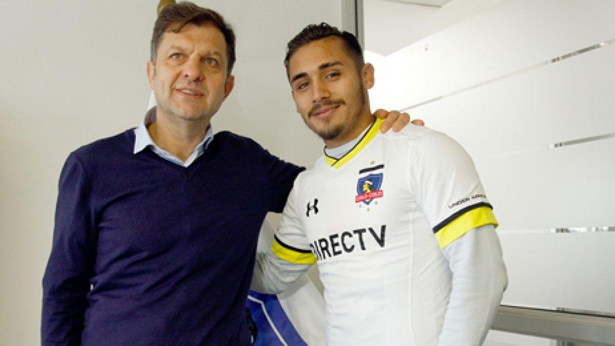 """Marcos Bolados tras llegar a Colo Colo: """"Confío en que vamos a hacer un buen campeonato"""""""