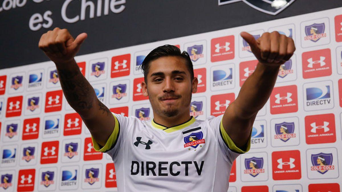 """Marcos Bolados presentado en Colo Colo: """"Había una oferta de la U, pero elegí jugar acá"""""""