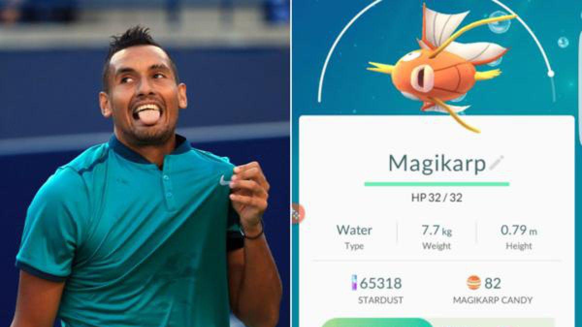 Polémica figura del tenis mundial pierde ante un novato y le echa la culpa a Pokémon GO