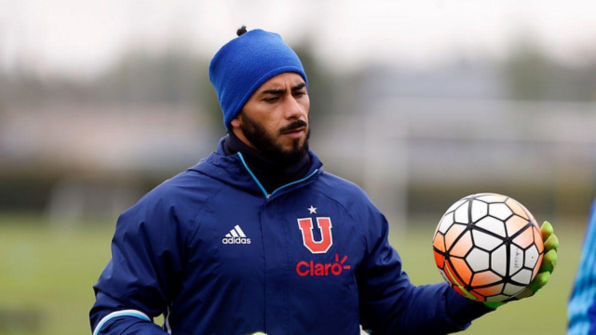 """Johnny Herrera y renovación con la U: """"Si tengo que terminar mi carrera en otro club, lo haré"""