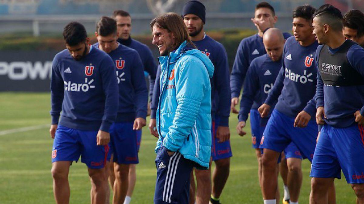 Beccacece prueba equipo para debut de la U y se une nuevo refuerzo