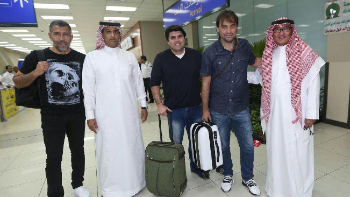 José Luis Sierra arriba con su staff a Medio Oriente para asumir el banco del Al-Ittihad