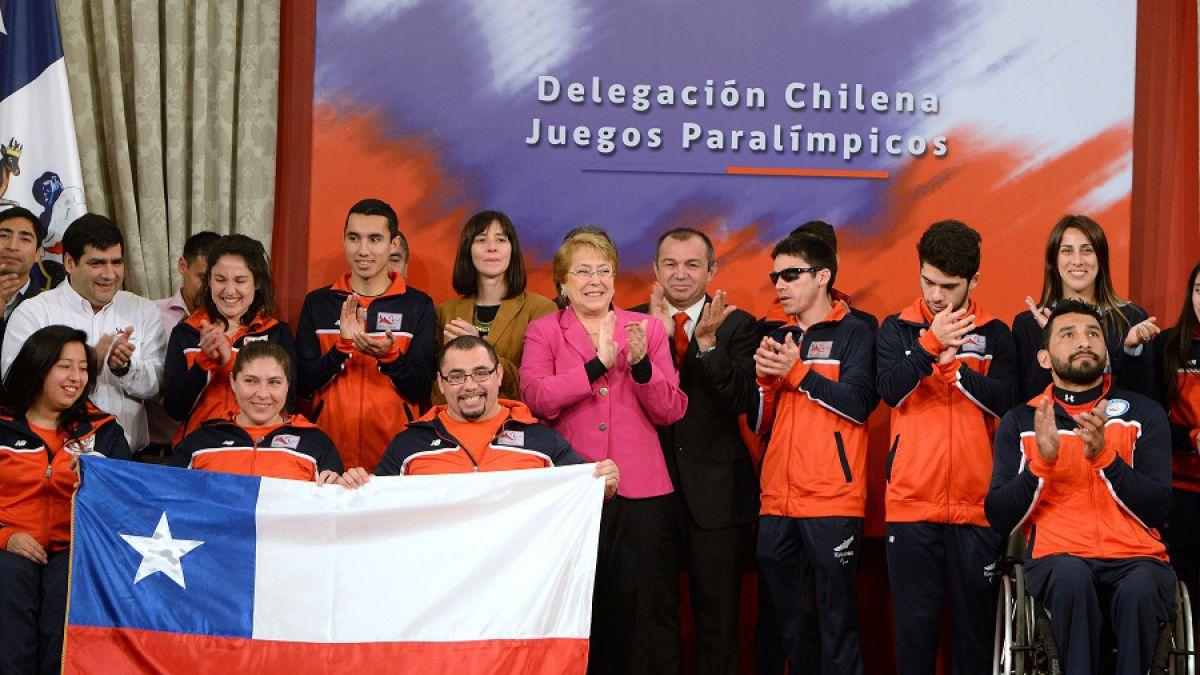 Pesista Juan Carlos Garrido será el abanderado de Chile en los Juegos Paralímpicos de Río