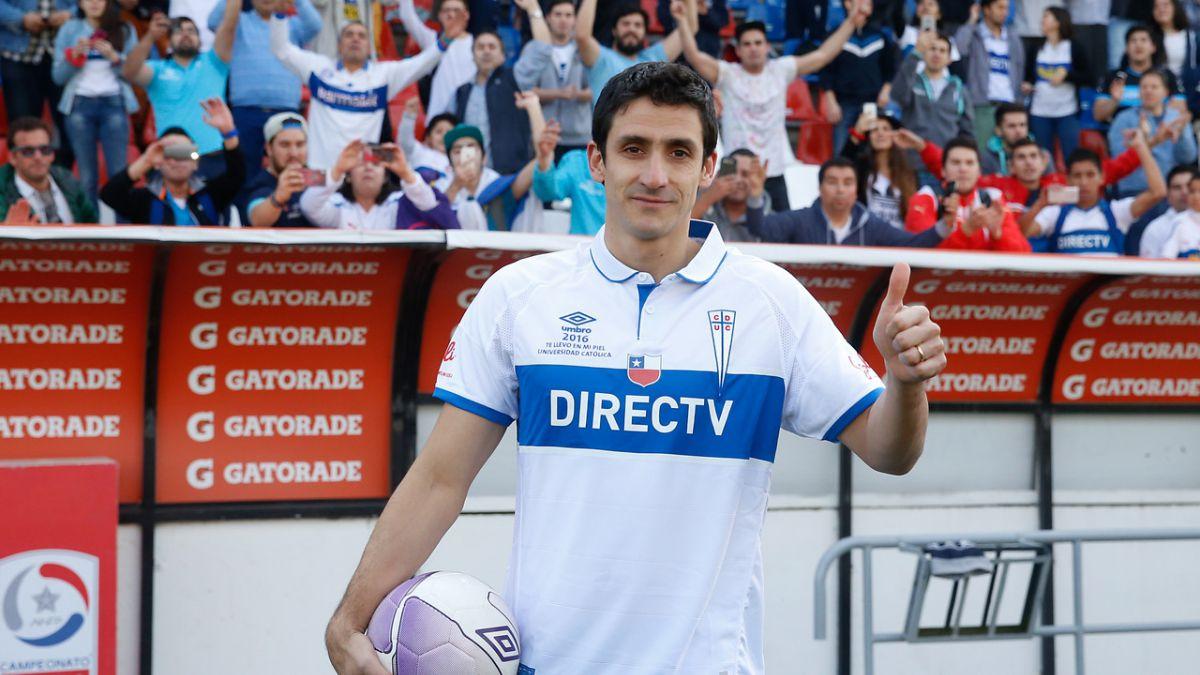 Mirosevic y su regreso a la UC: No pensé que se iba a dar como jugador