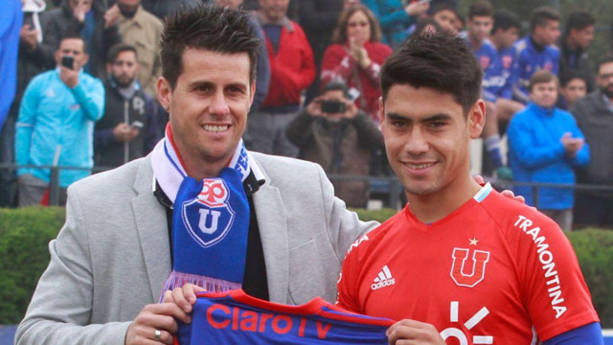 [FOTO] Del baúl de los recuerdos: un pequeño Felipe Mora junto a un joven Diego Rivarola
