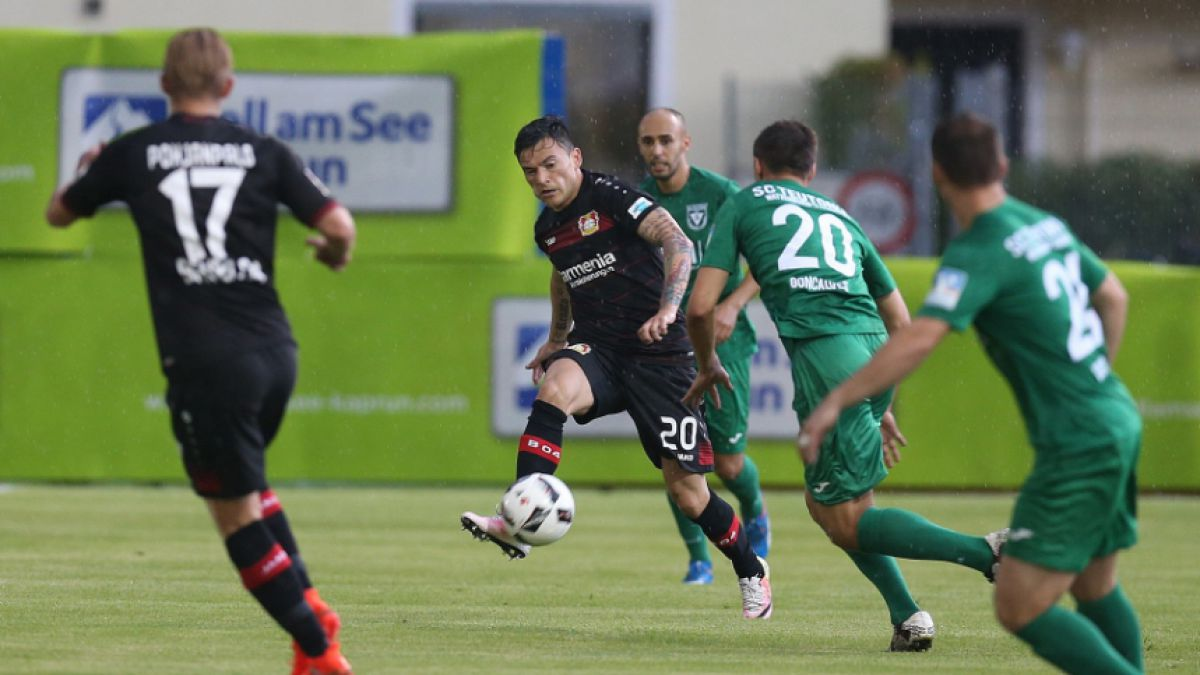 Tormenta eléctrica suspende amistoso del Leverkusen con Charles Aránguiz de titular