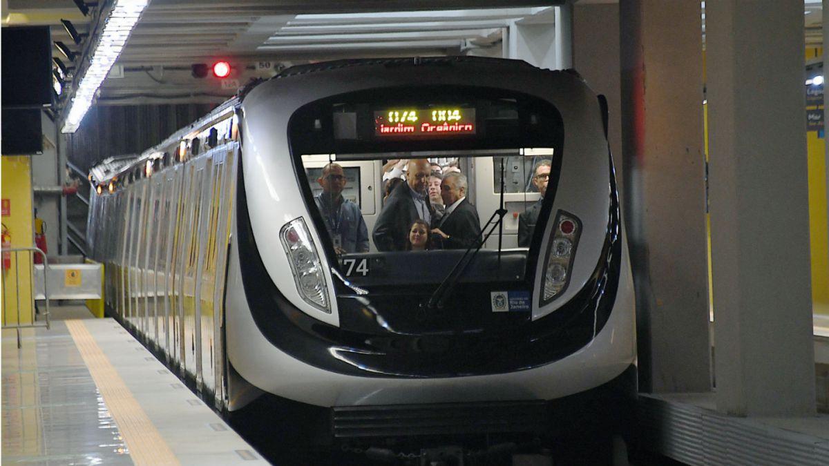 Inaugurado el metro olímpico: Una pesadilla menos antes de Río 2016