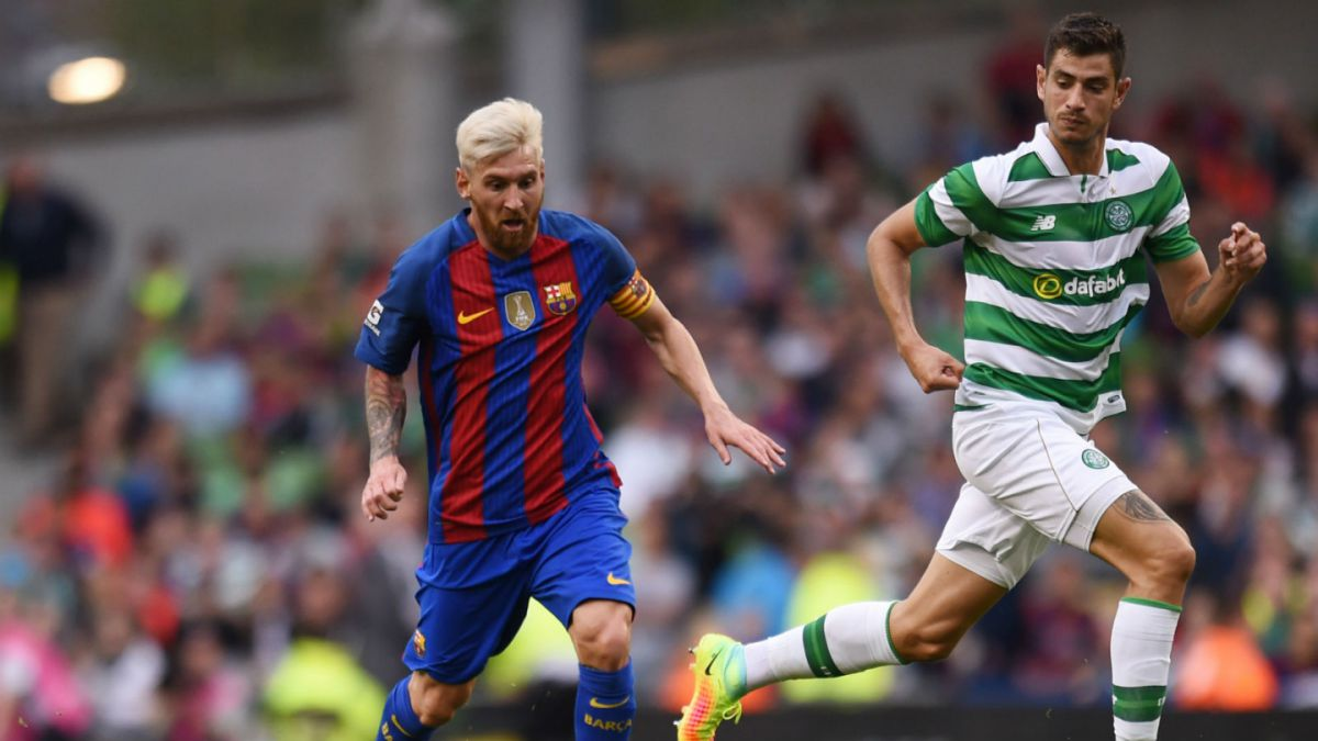 Barcelona debuta en la pretemporada con victoria ante el Celtic de Escocia