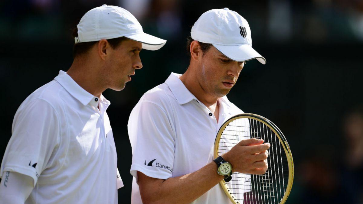 Los hermanos Bryan se suman a ausentes en el tenis olímpico de Río 2016