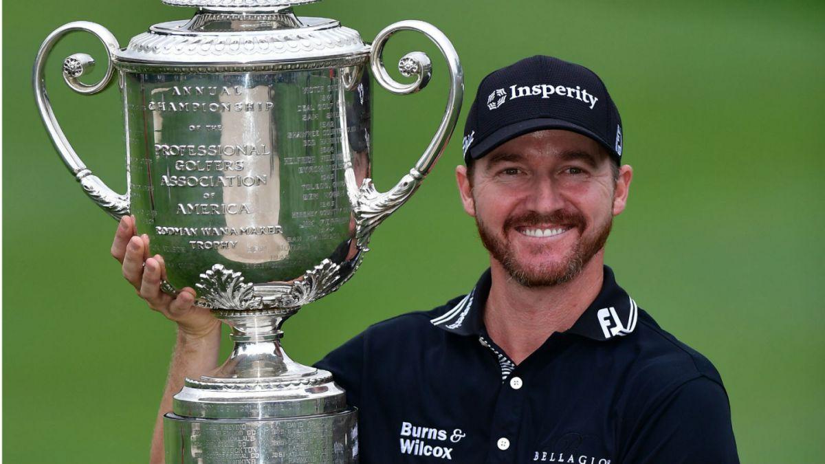 Golf: Estadounidense Jimmy Walker gana el PGA Championship