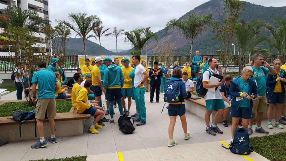 Refuerzan seguridad en Villa Olímpica tras robo a delegación de Australia