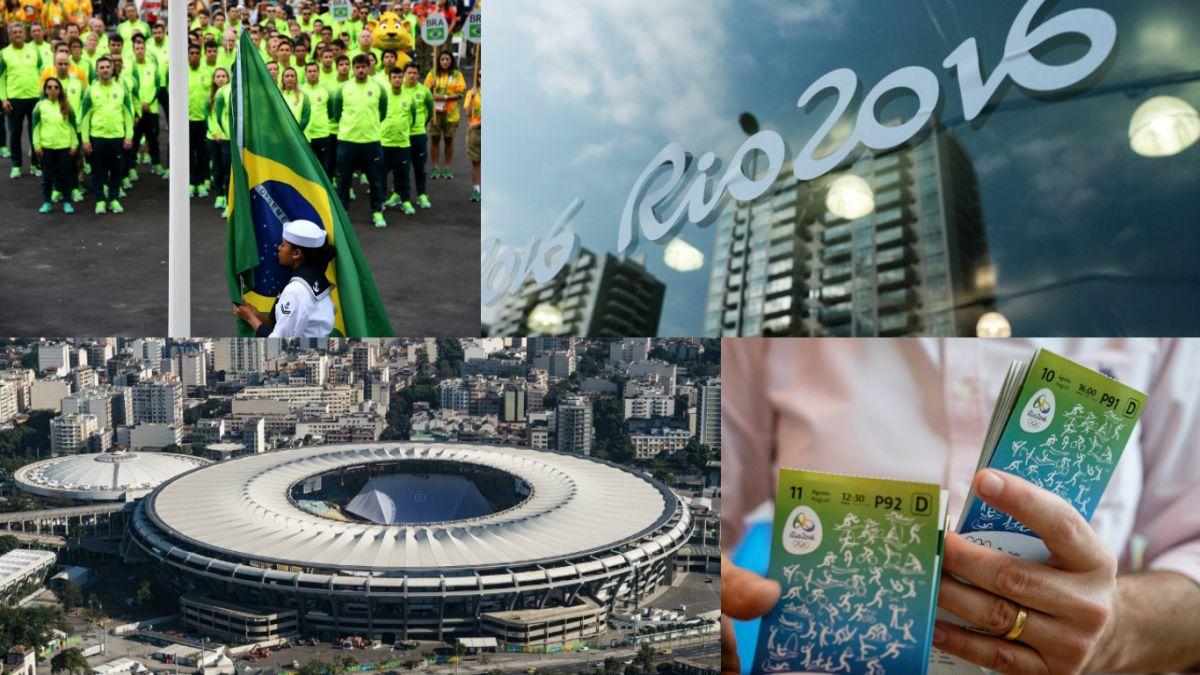 Los increíbles números que rodean a los Juegos Olímpicos de Río 2016