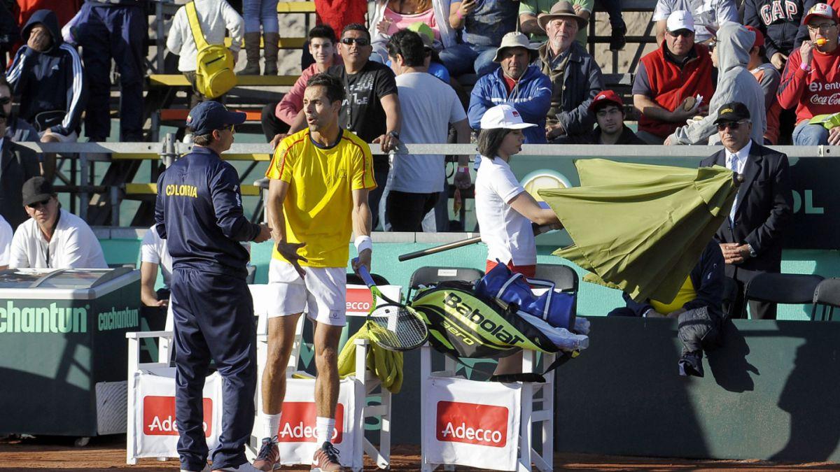 Colombia impugna ante la ITF resultado frente a Chile en Copa Davis