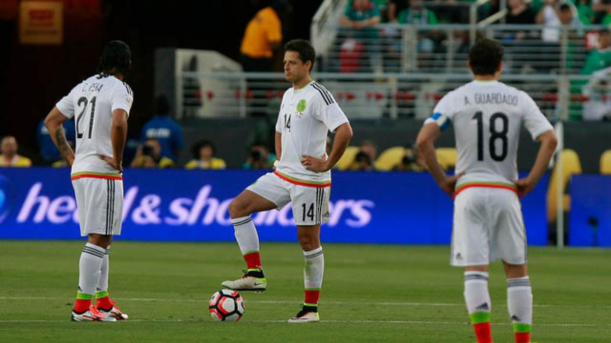 """""""Chicharito"""" Hernández recuerda el 7-0 ante """"La Roja"""": """"Un resultado horrible"""""""