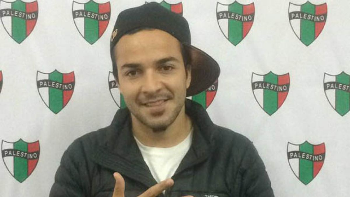 Palestino oficializa llegada de Mathías Vidangossy como nuevo refuerzo