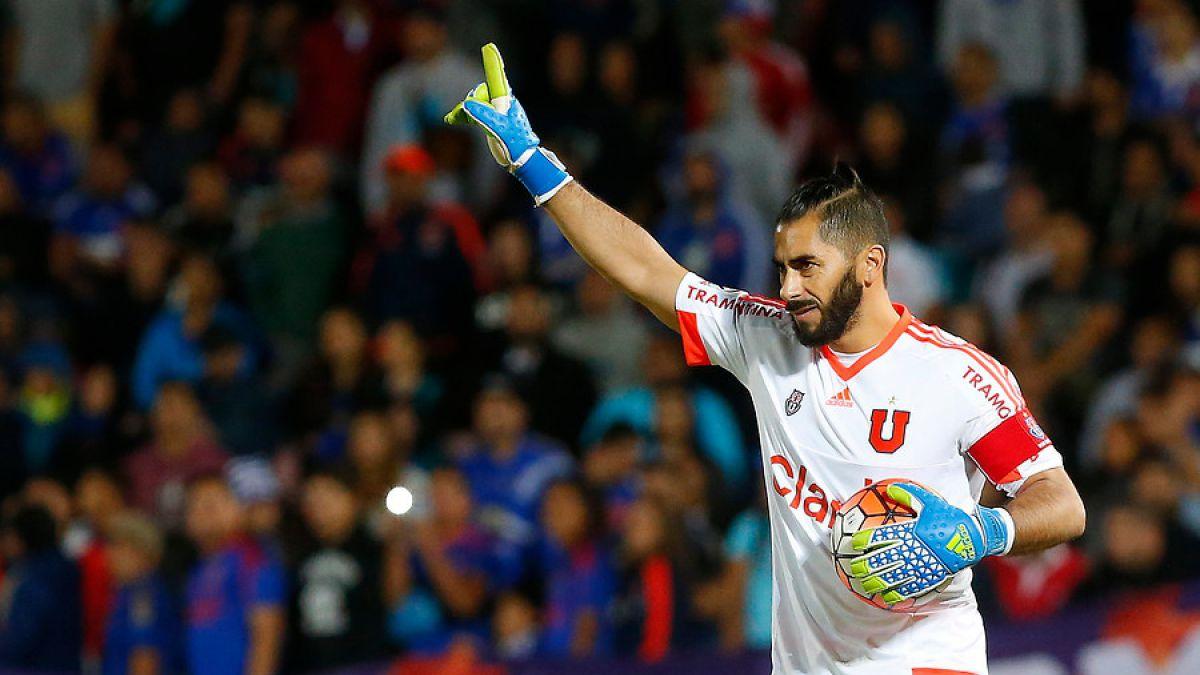 Johnny Herrera extendió su contrato con Universidad de Chile