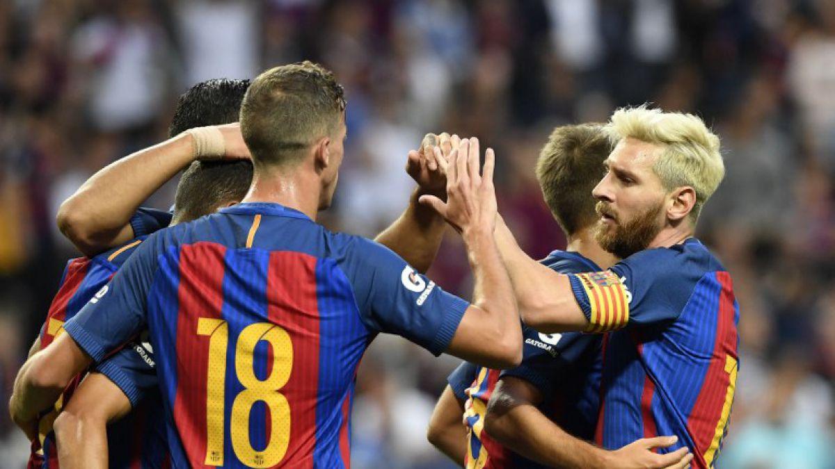 Barcelona sin Claudio Bravo vence en amistoso al Leicester City