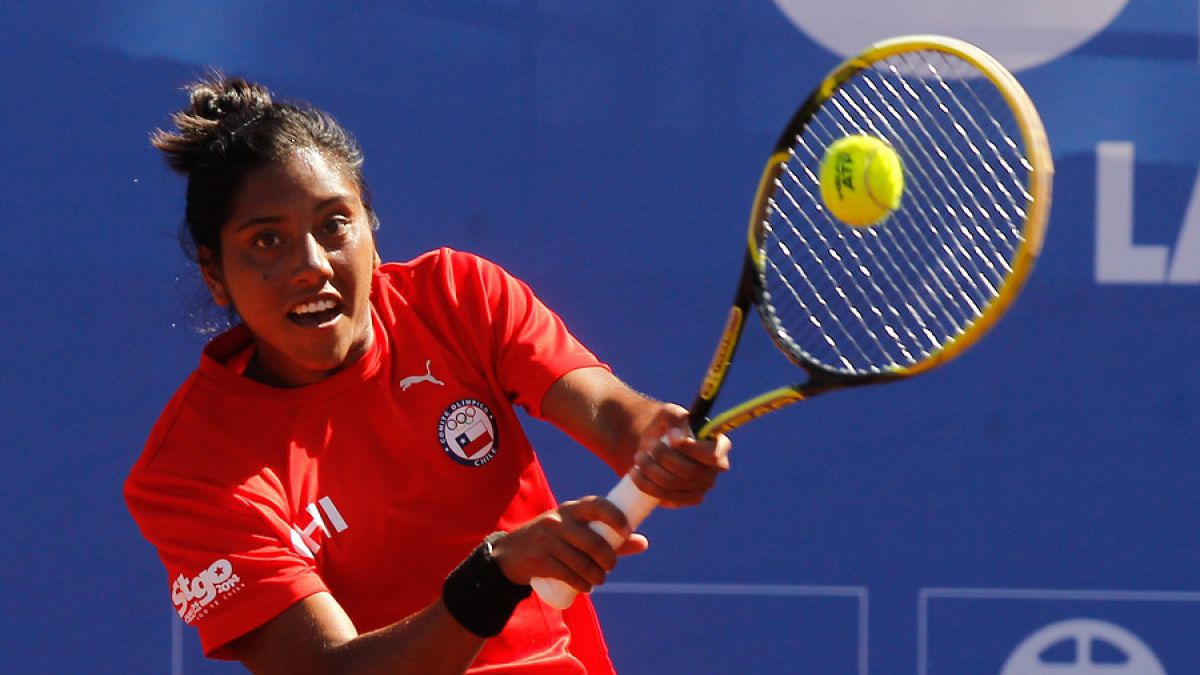 Tenista chilena Daniela Seguel presente en la qualy del US Open