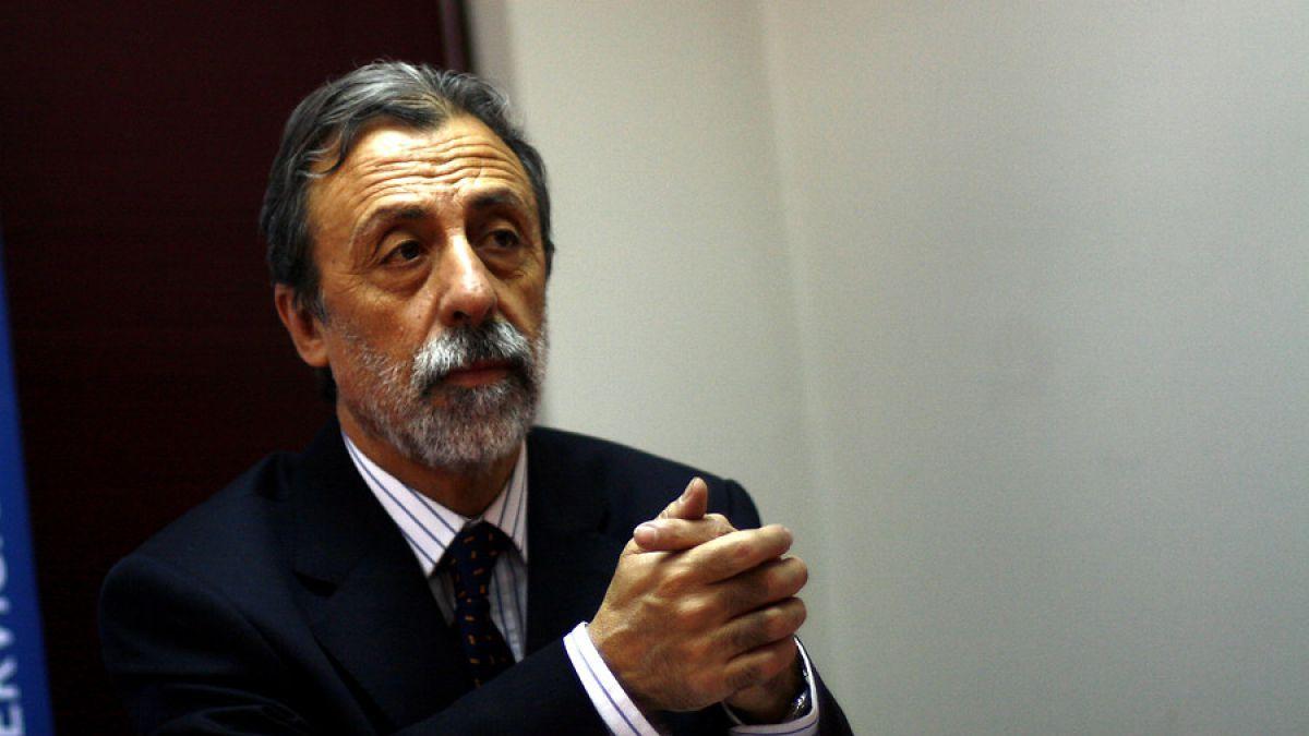 "Luis Mesina, vocero de ""NO+AFP"""