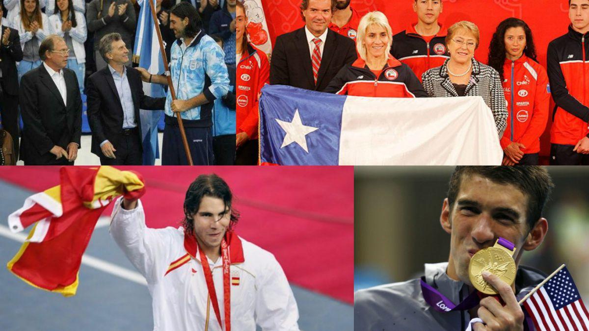 Los principales abanderados de cara a la ceremonia de apertura de Río 2016