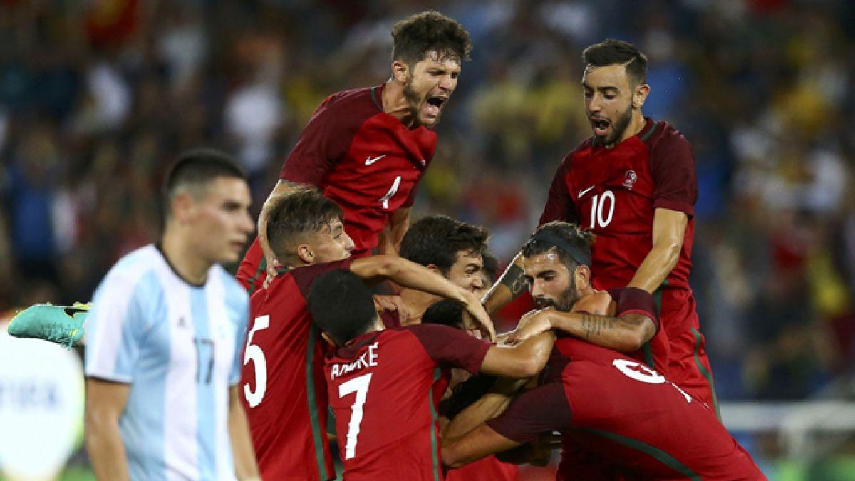 Argentina cae ante Portugal en debut en fútbol de Río 2016