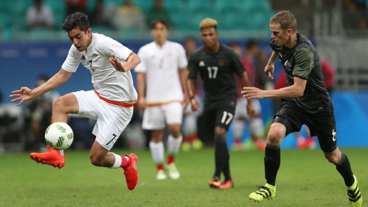México y Alemania empatan en fútbol de Río 2016 en partido de campeones