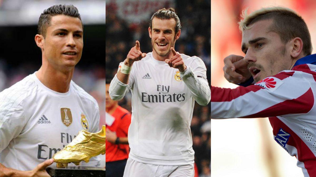 Cristiano Ronaldo, Bale y Griezmann luchan por premio a mejor jugador de la UEFA