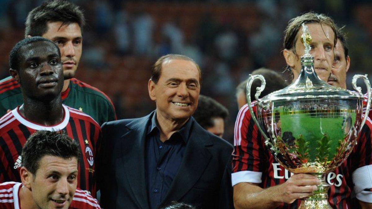 Grupo de inversores chino adquiere el 99% del AC Milan a Berlusconi