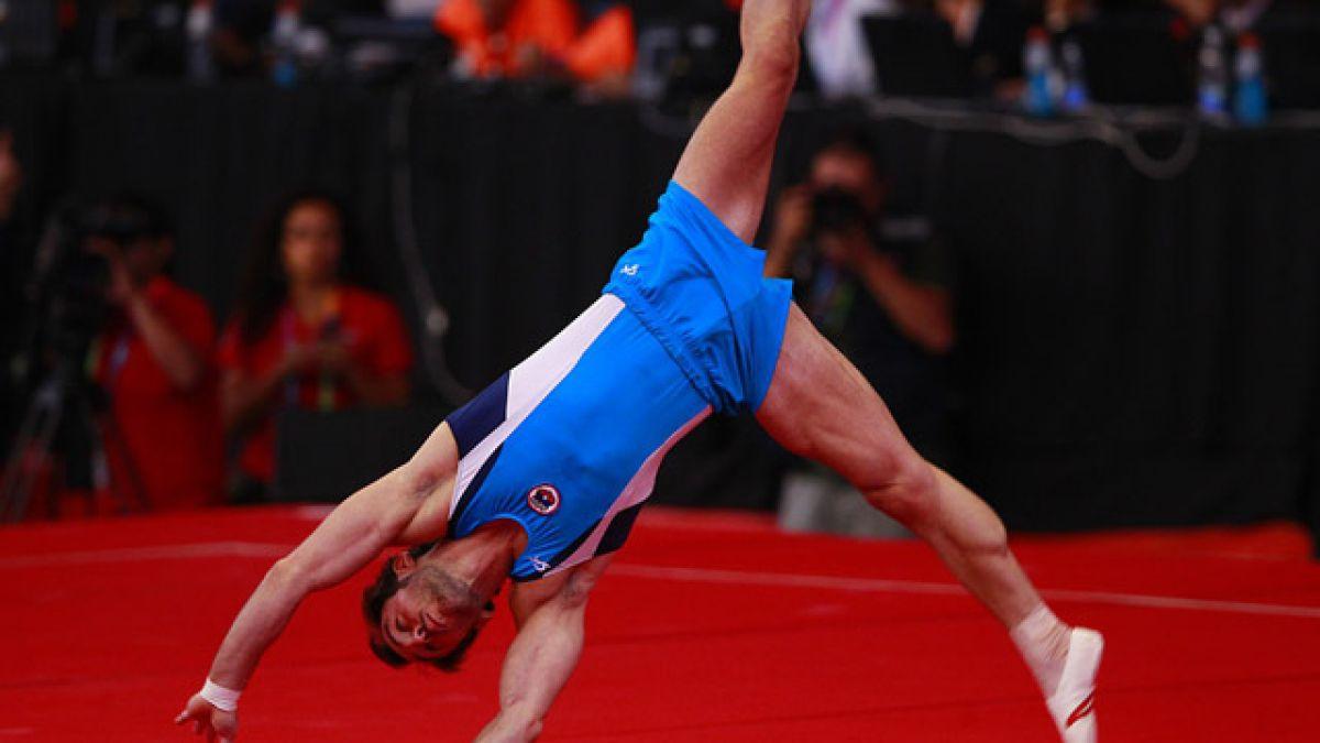 Tomás González disconforme tras puntaje en suelo y en suspenso su paso a la final