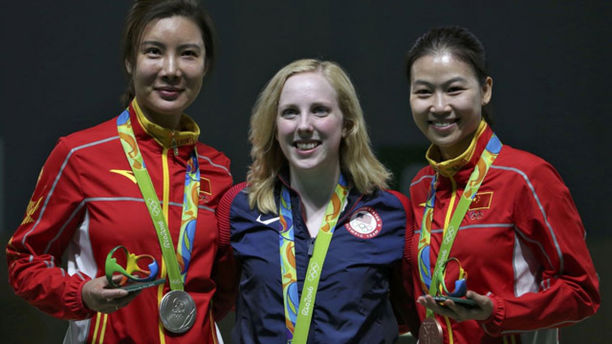 Primer oro de Río 2016 es para la estadounidense Virginia Thrasher en tiro