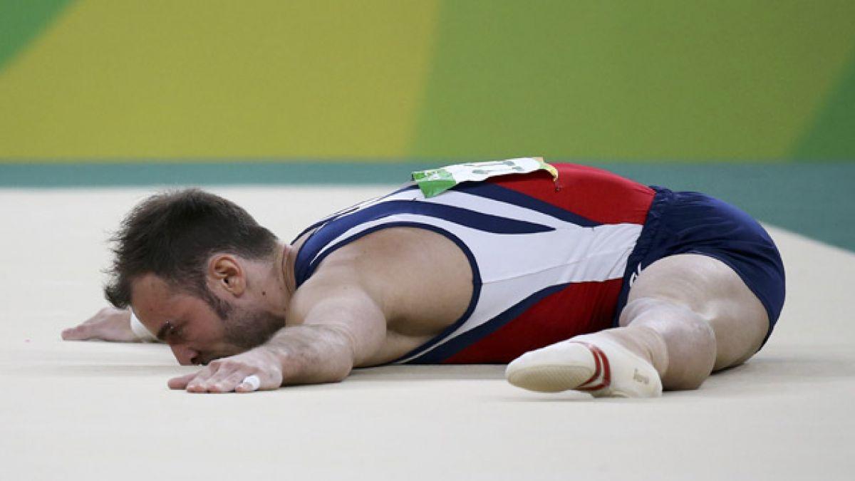 Tomás González no logra pasar a la final de suelo en Río 2016