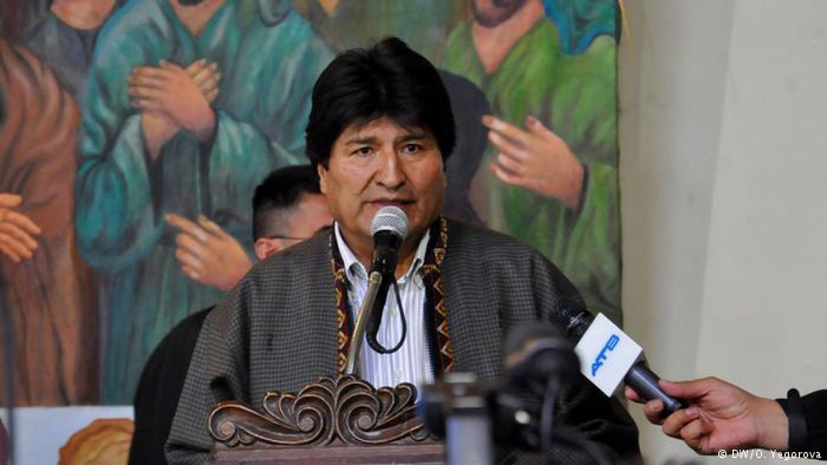 Morales confirma desaceleración de economía boliviana
