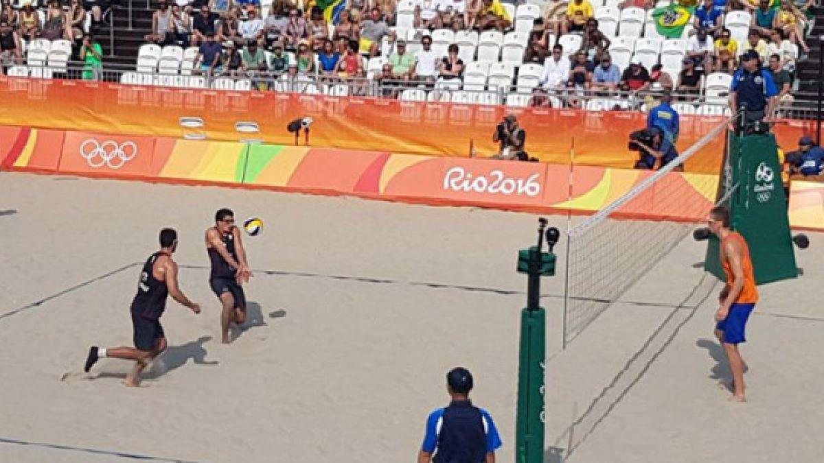 Primos Grimalt debutan con una derrota en el voleibol playa de Río 2016