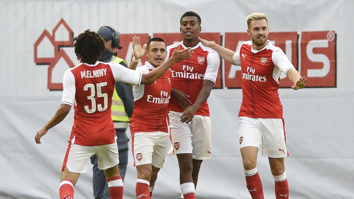 Alexis Sánchez no participó en abultado triunfo de Arsenal