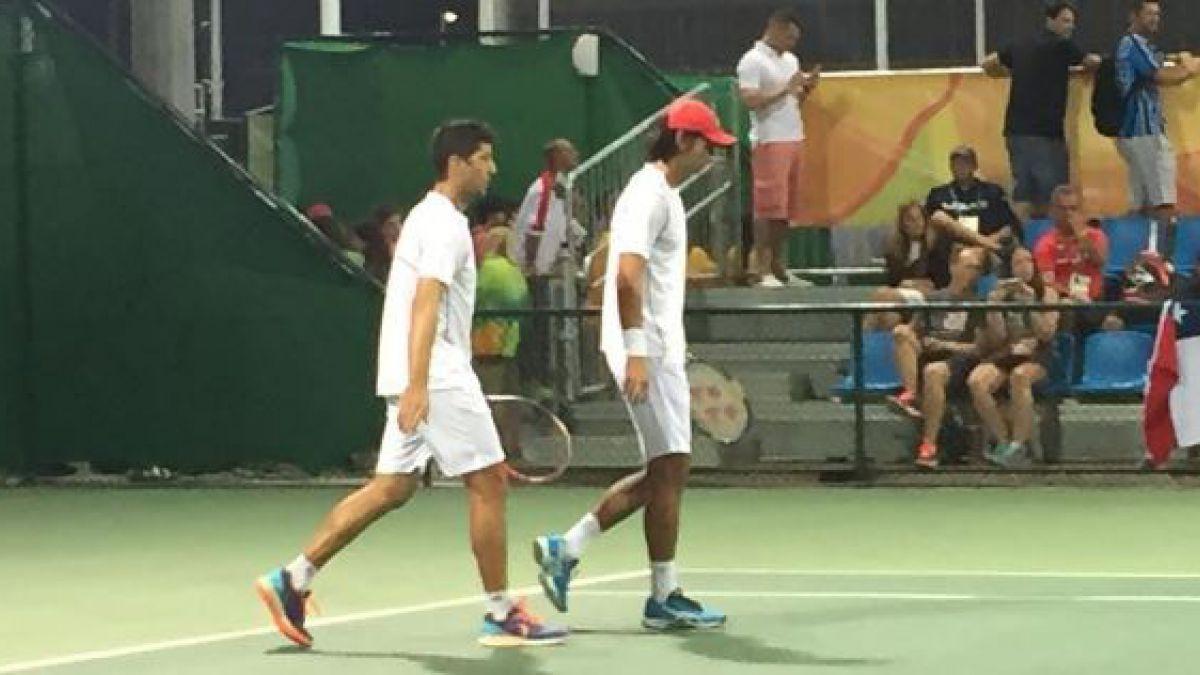 Peralta y Podlipnik eliminados: Debut y despedida para el tenis chileno en Río 2016