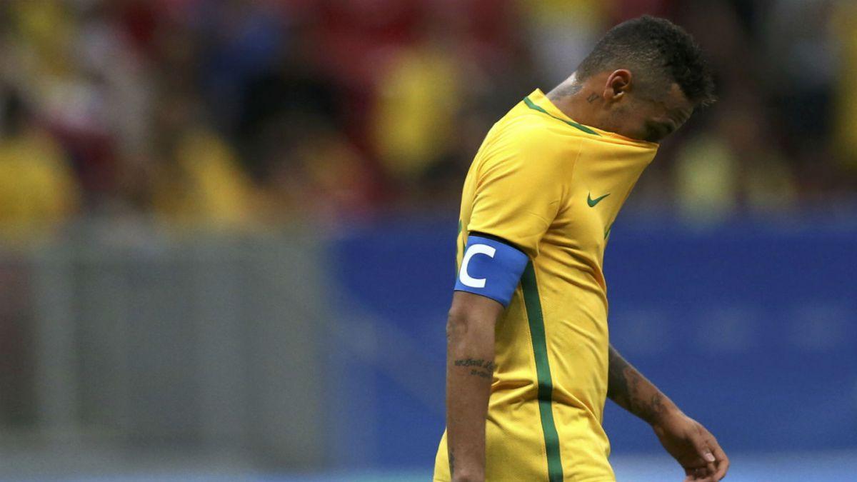 Brasil de Neymar vuelve a decepcionar en el fútbol olímpico de Río 2016