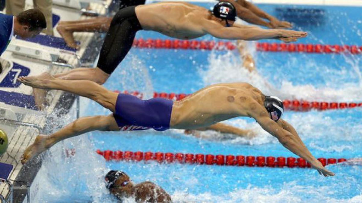 Río 2016: ¿qué son los círculos rojos en la espalda del nadador Michael Phelps y otros atletas