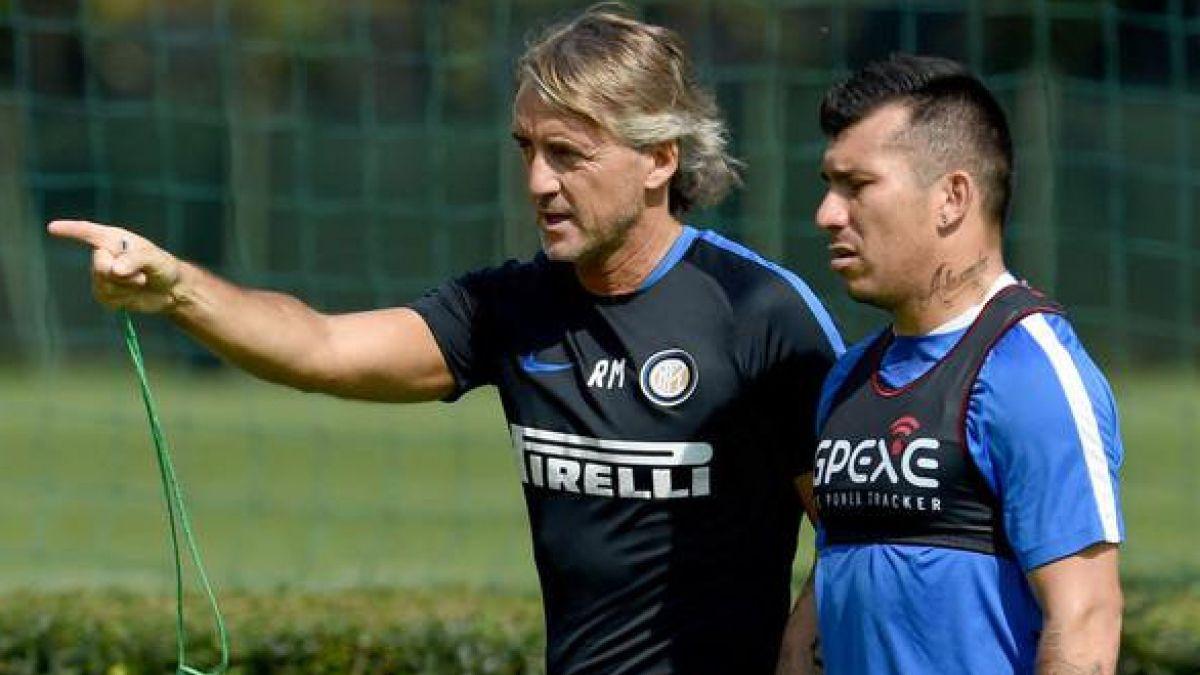 Gary Medel queda sin DT: Inter de Milan confirma la salida de Roberto Mancini