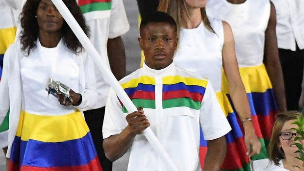Abanderado de Namibia detenido por agresión sexual en Rio 2016