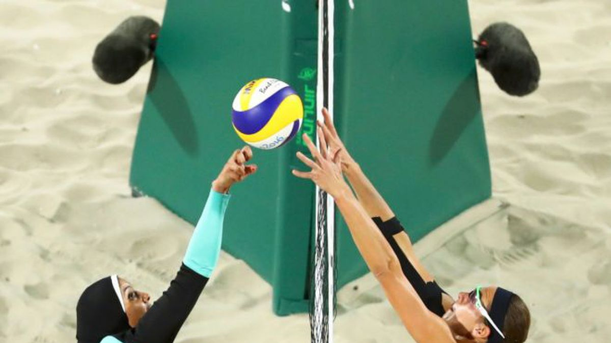 La foto del voleibol playa que se convirtió en una las imágenes de las Olimpiadas de Río