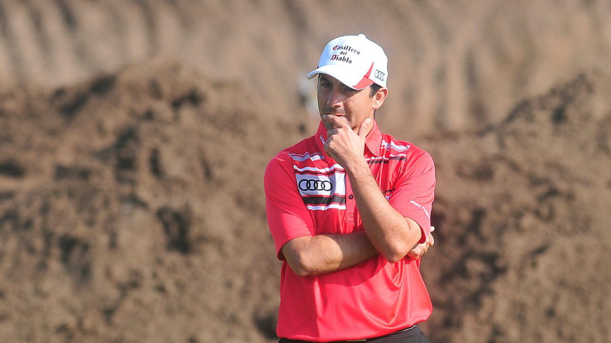 Golfista chileno Felipe Aguilar sufre robo en Río 2016