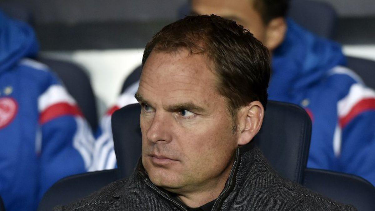 Frank de Boer es el elegido para dirigir al Inter de Gary Medel